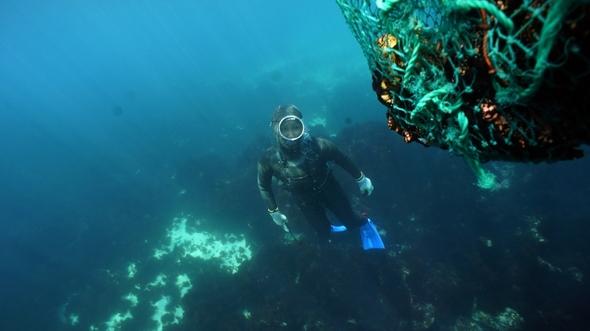 蓝色大海的传说——海女