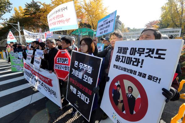 こんな時に…韓国政府、韓日軍事...