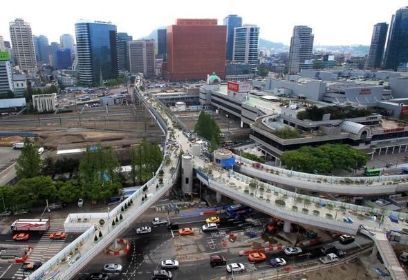 ソウル路 へのソウル駅からの行き方と全体マッ …