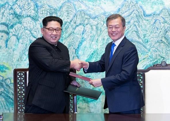 全文] 「朝鮮半島の平和と繁栄、...