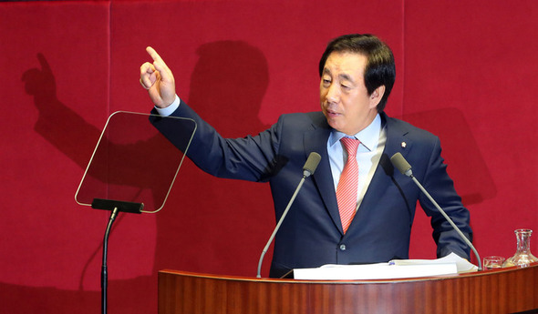 自由韓国党院内代表の「出産主導...