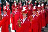 지난 3월 서울 종로구 명륜동 성균관 대성전에서 열린 춘기 석전대제의 한 장면. <한겨레> 자료사진.