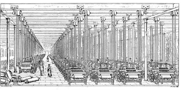 산업혁명 당시에 공장 시스템을 분석한 앤드류 유어는 공장이 노동자들의 생활수준과 교육수준을 향상시키며, 기계가 비싼 숙련노동을 값싼 비숙련노동으로 대체함으로써 이익을 가져다 준다고 주장했다. 그의 기술철학에서 기술발전의 궁극적 목표는 인간이 완전히 배제된 채로 가동되는 공장 시스템을 만드는 것이었다.