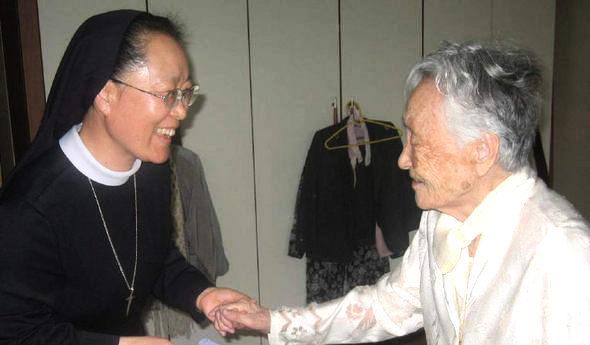 김쌍금례 할머니 정신지체장애인에 1억 기부