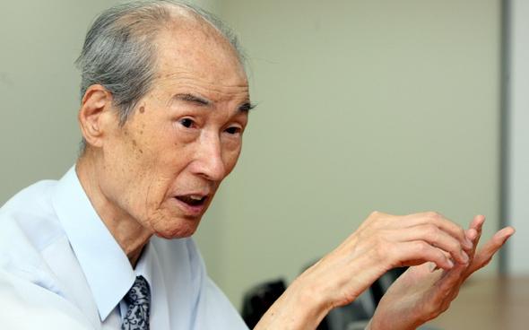 2009년 9월8일 한글학자 정재두. 김진수 기자 jsk@hani.co.kr