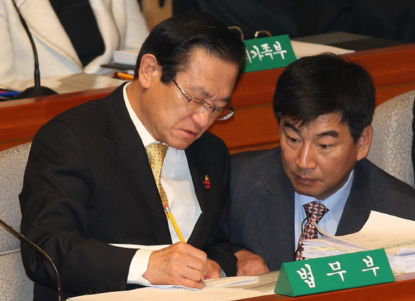 7일 오전 국회에서 예산결산특별위원회 전체회의가 열렸다. 박종식 기자 anaki@hani.co.kr