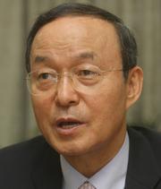 송민순 북한대학원대학교 총장