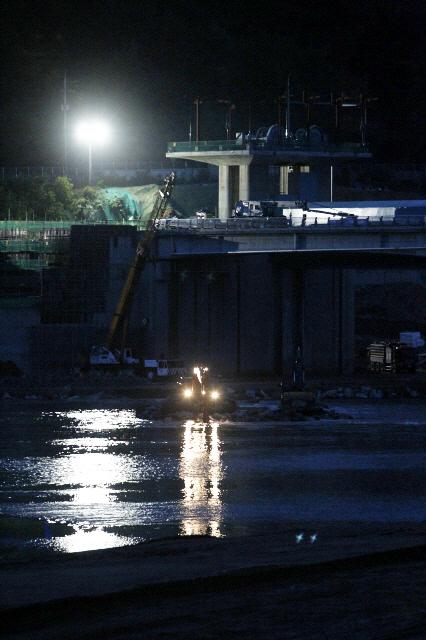 Nakdan Weir construction site (Photo by Kim Myoung-jin)