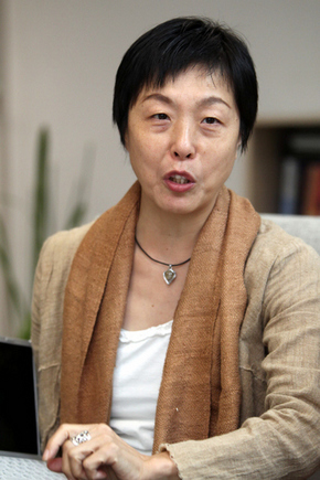 일본의 다큐멘터리 감독인 가마나카 히토미
