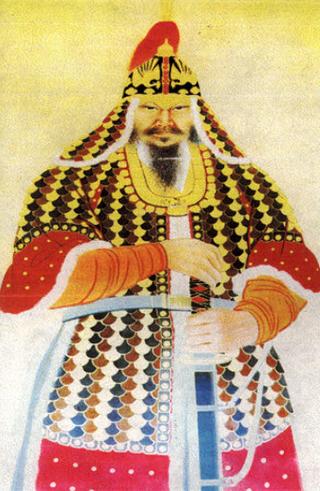 권율(1537~1599) 장군의 초상. 전라도관찰사 권율은 1593년 2월 행주산성에서 승리를 거두면서 조선 육군을 대표하는 장수로 떠올랐다. 그는 강화협상이 본격화되자 전라도로 귀환했으나 이후 도원수로서 정유재란 시기까지 각 지역의 전투에 참전하여 공을 세웠다. 죽은 뒤 영의정에 추증되고 선무공신 1등에 책록되었다. 문화재청 누리집에서 전재