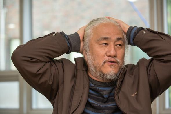 박경석 노들장애인야학 교장은 화재로 질식한 장애여성 활동가 김주영씨의 노제 시위로 200만원의 벌금을 부과받았다. 박승화 기자