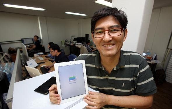 Interview] South Korea's software renegade turns to e-books