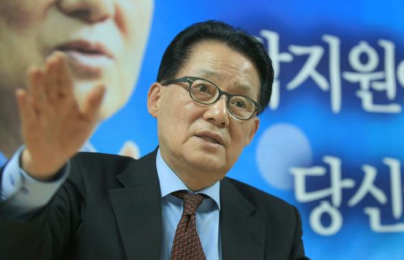 국민의당 박지원 의원. 탁기형 선임기자 khtak@hani.co.kr
