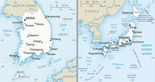 US State Department doesn\'t clearly show Dokdo as Korean territory ...
