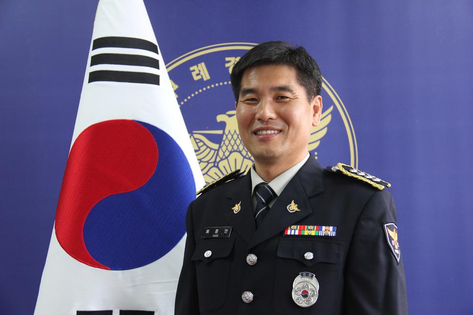 최종안 경사. 사진 전남지방경찰청 제공