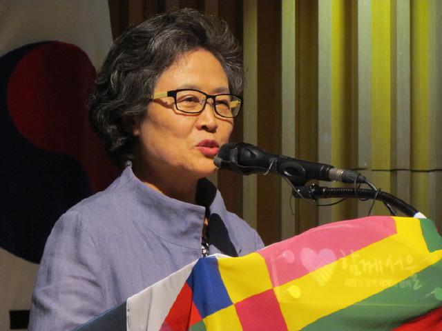이김현숙 여성평화외교포럼 상임대표