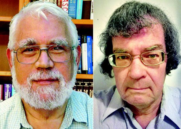 포스톨 교수(왼쪽)와  조지 루이스 선임연구원. 사진 포스톨 교수·루이스 선임연구원 제공