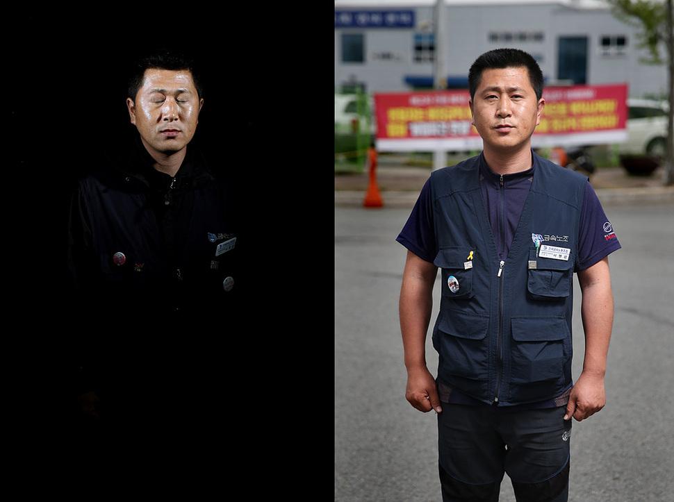 서맹섭씨는 사내하청 노동자였다. 박종식 기자 anaki@hani.co.kr