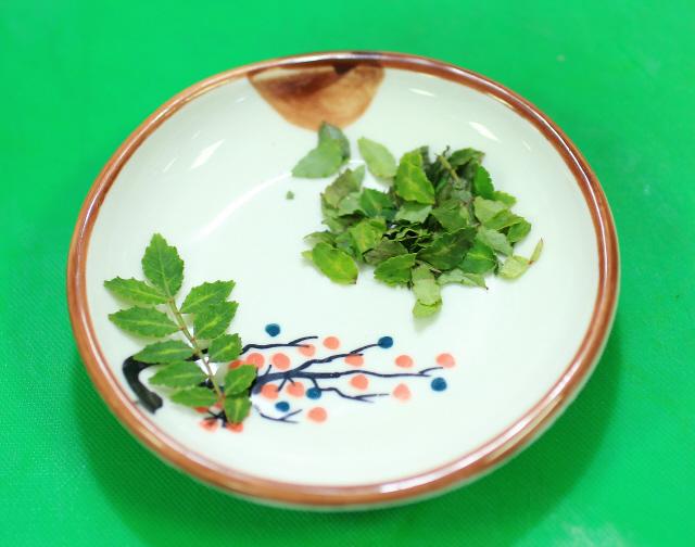 제피(초피나무 잎).