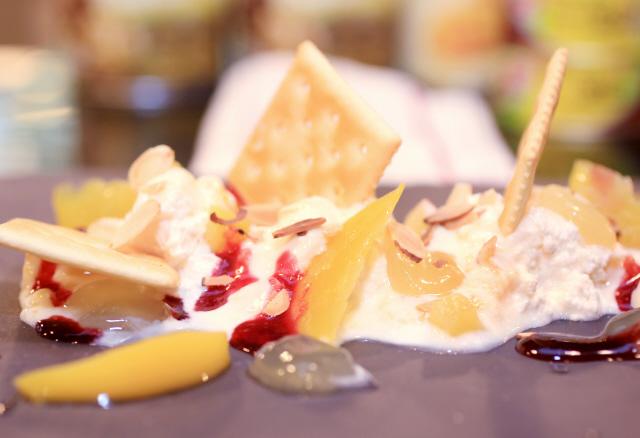 과일 치즈 요거트