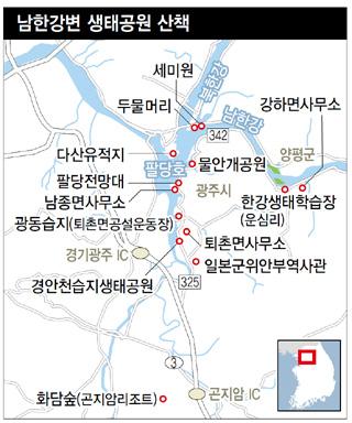 남한강변 생태공원 산책