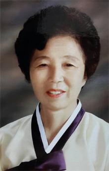 안진걸씨 어머니 김정순(74)씨.