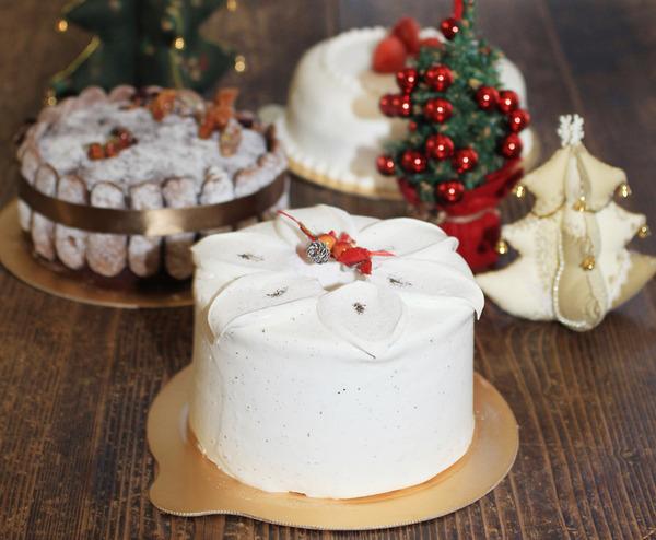 브레드랩 케이크