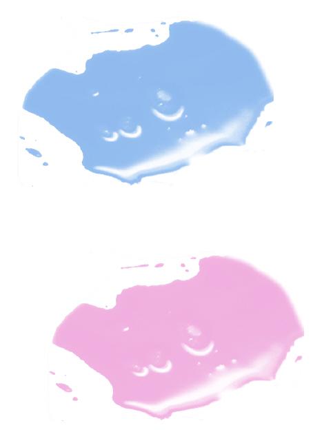 (위) 세레니티, (아래) 로즈쿼츠