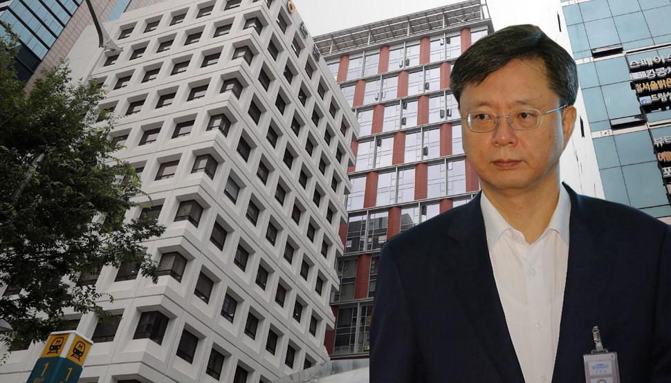 우병우 수석 처가 부동산 매매 논란. 한겨레 자료사진