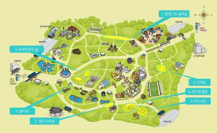 서울어린이대공원에서 가장 시원한 7개 장소 서울시 제공