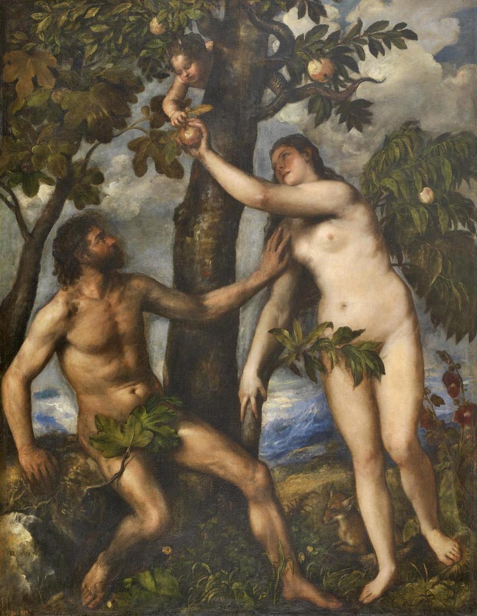 종교와 신화는 인간이 본성적으로 호기심을 억누르지 못하는 존재라는 것을 최초의 인간을 통해서 말하고 있다. 16세기 이탈리아 화가 티치아노의 <아담과 이브>(왼쪽)와 19세기 영국 화가 단테이 로세티의 <판도라의 상자>.