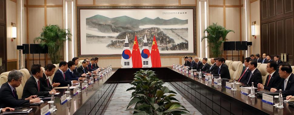"""시진핑 """"사드, 각국 갈등 심화시킬 것"""" 경고 메시지 : 국방·북한 : 정치 : 뉴스 : 한겨레"""
