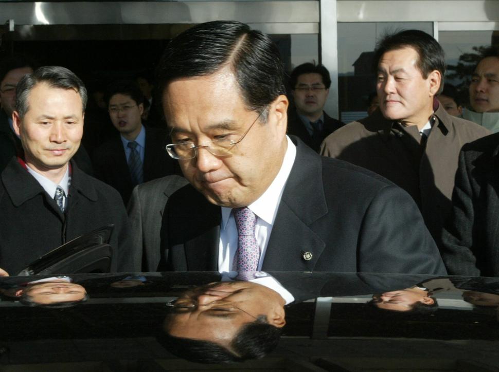 방상훈 조선일보 사장. 한겨레 데이터베이스.