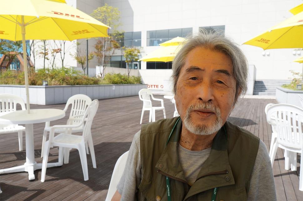 마에다 겐지(81) 감독. 강성만 기자