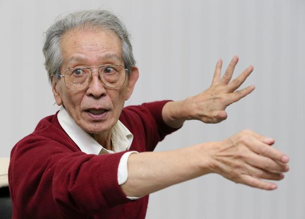히로세 다카시 일본 반핵평화운동가가 25일 오후 서울 공덕동 한겨레신문사에서 경주지진에 대해 이야기하고 있다. 김정효 기자 hyopd@hani.co.kr