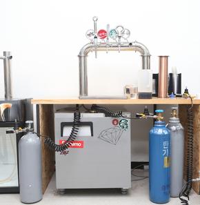 질소커피 생산시설을 파는 트리즈랩의 제품.