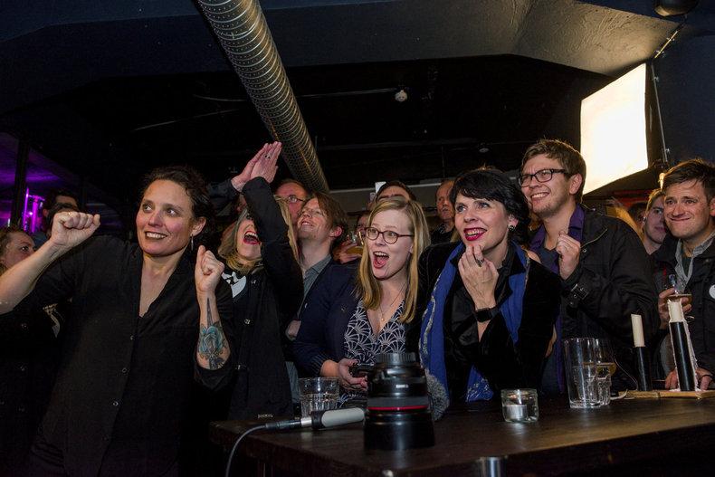 아이슬란드 '해적당' 총선 약진…세계 첫 집권당 될까