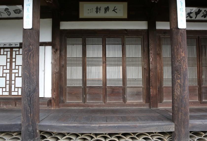 춘양면 의양리 만산고택의 별당 칠류헌.