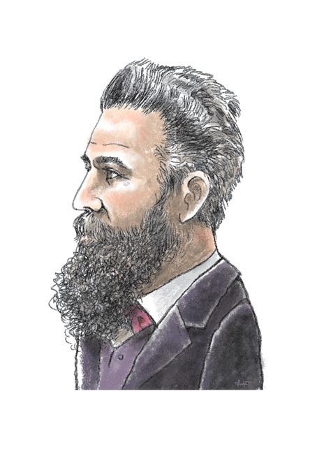 [나는 역사다] 11월8일의 사람, 엑스선 발견한 빌헬름 뢴트겐(1845~1923) : 사회일반 : 사회 : 뉴스 : 한겨레