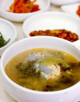 '자매식당'의 통장어탕. 박미향 기자