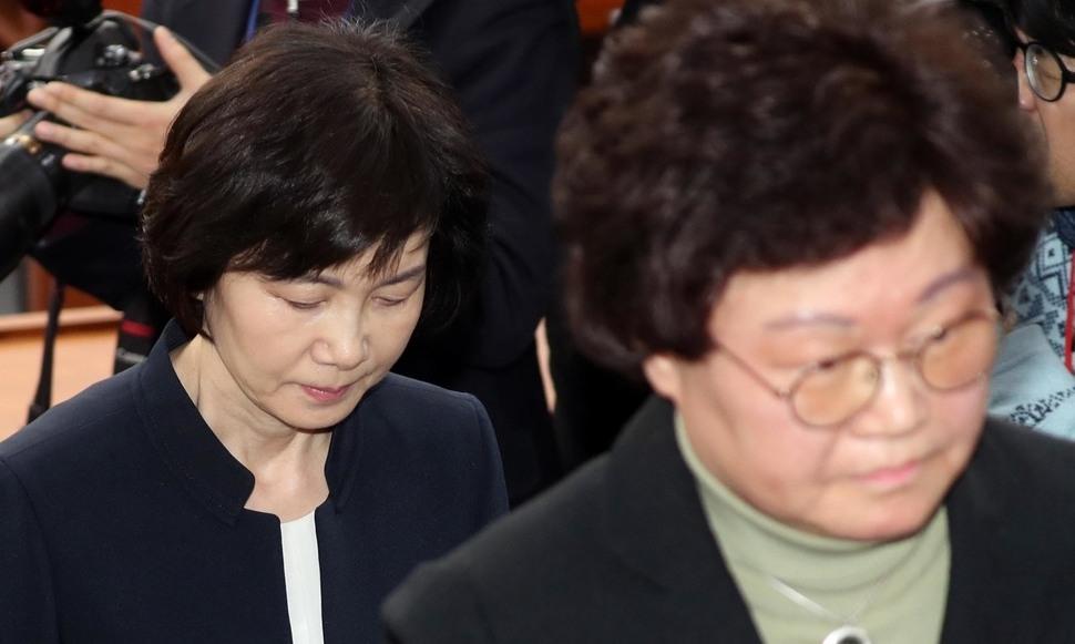 """[영상] """"특혜 없다"""" 현장서 들통난 최경희-김경숙 거짓말"""