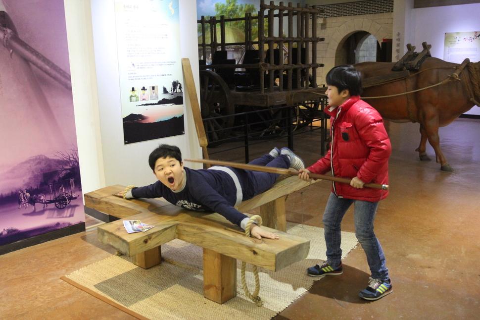 김 교사가 아이들과 갔던 경남 남해의 남해유배문학관.