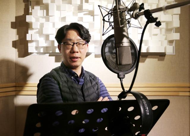 노광균 뮤직킹 대표. 박미향 기자