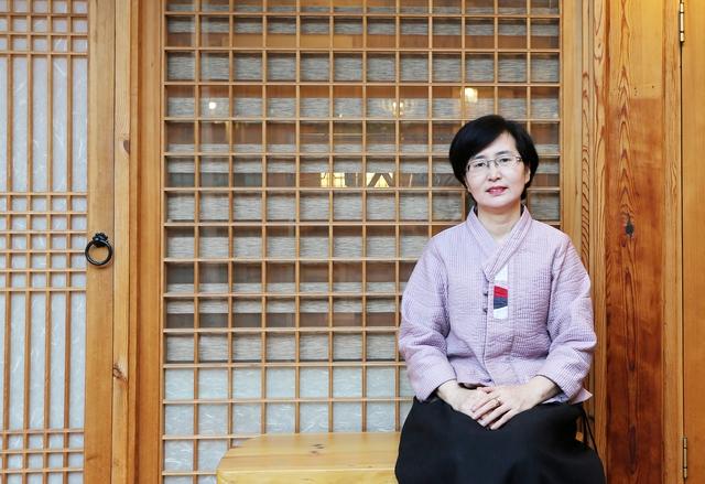 김미혜 솔가헌 대표. 박미향 기자