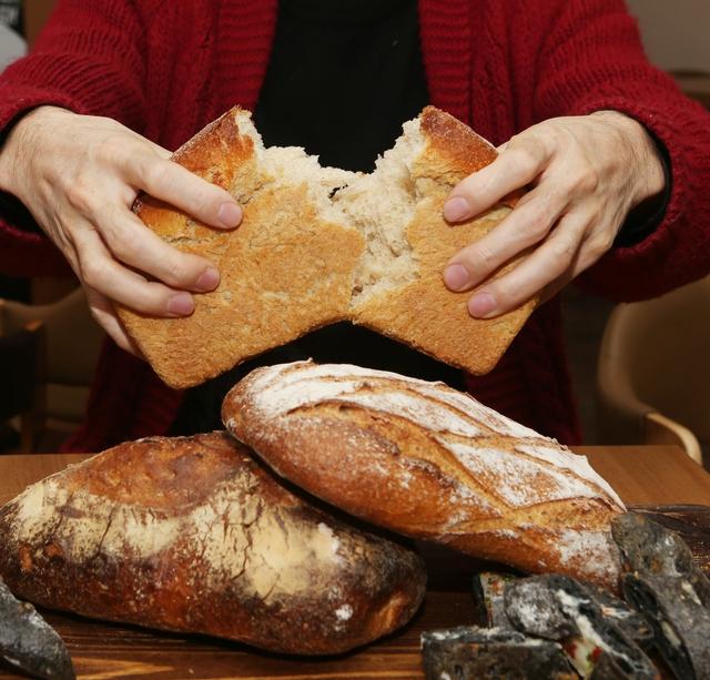 소울 브레드의 '통밀100% 식빵'. 박미향 기자
