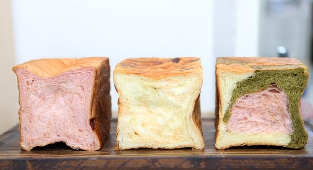 교토마블의 딸기·치즈·삼색식빵. 박미향 기자