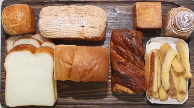 밀도의 식빵들. 박미향 기자