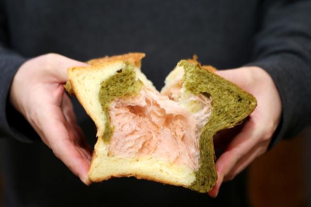 교토마블의 '삼색식빵'. 박미향 기자