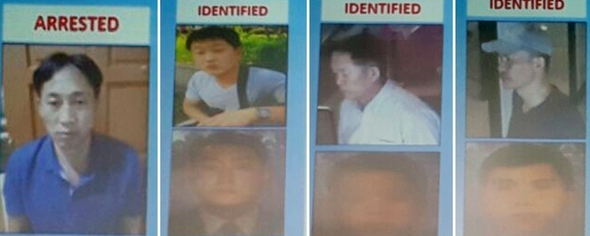 Four North Korean suspects fled Malaysia immediately after