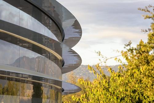 애플, 4월에 우주선으로 이사간다